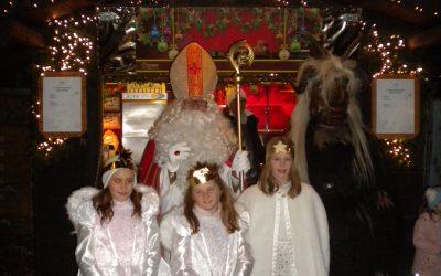 Der Nikolaus war in der Stadt