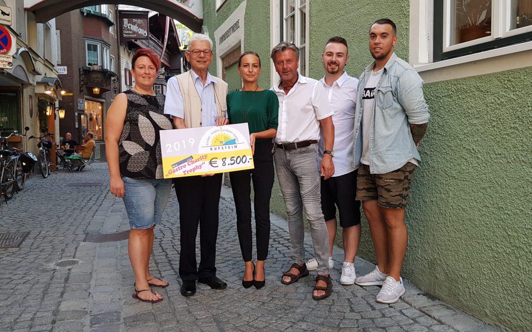 Die Charity Trophy Kufstein der Segabar bringt € 8.500,-