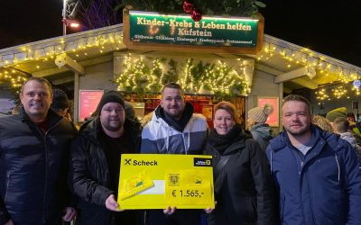 Cerritus-Pass übergab uns € 1.565,-