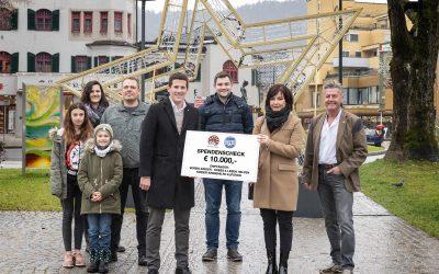 Round Table und Soroptimisten spenden 10.000 Euro